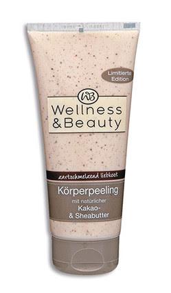 """Wellness & Beauty """"zartschmelzend liebkost"""" Körperpeeling"""