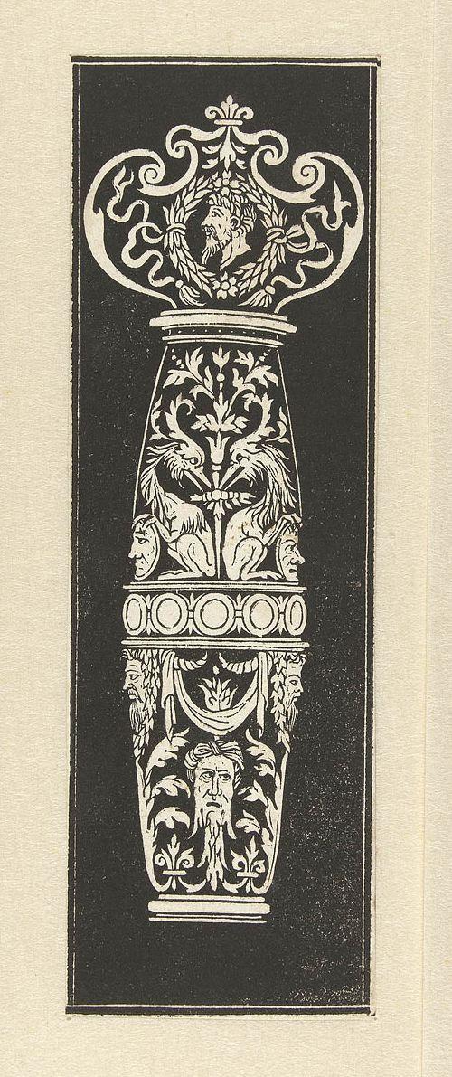 Peter Flötner design (1495-1546) a