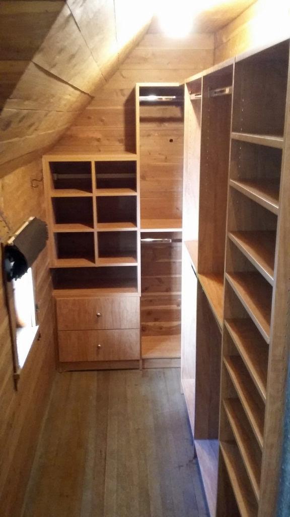 We Design Custom Closets Especially For You