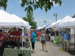 The Orland Chamber of Commerce hosts a variety of programs. This from the recent Arts Fair