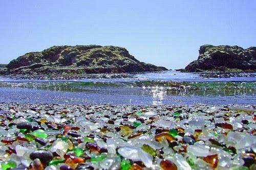Glass Beach - Fort Bragg, California