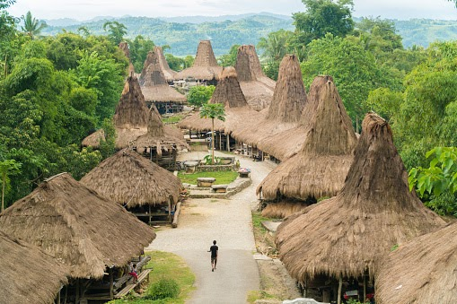 Arsitektur Uma Tarung Sumba