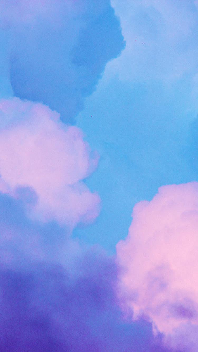 Bj16 Sky Blue Pastel Art