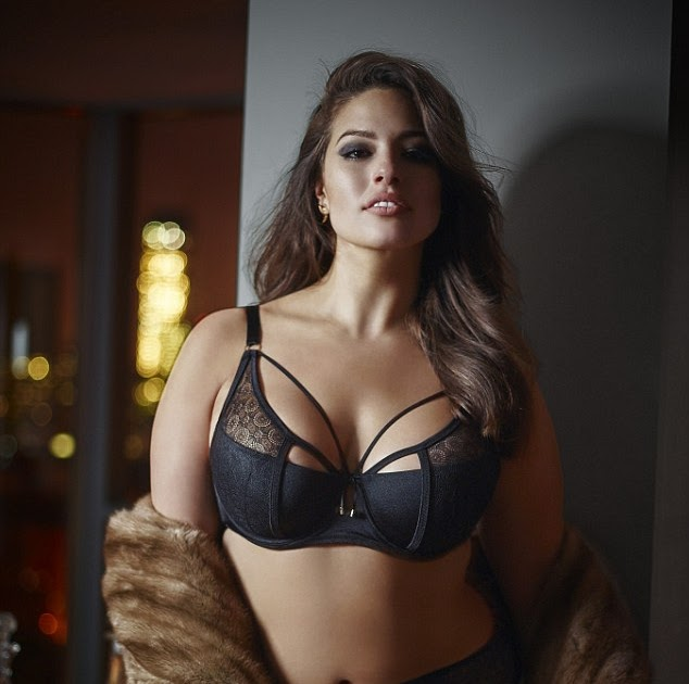 Www Ashly: KATCHING MY I: Plus-size Model Ashley Graham Shows Off Her