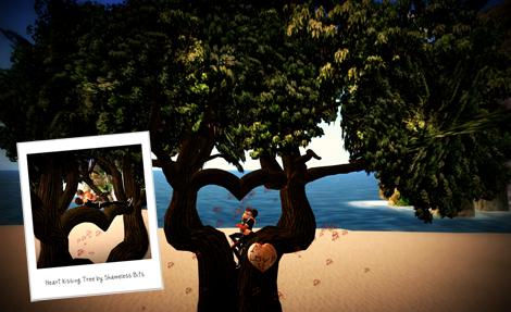 ::STB:: Heart Kissing Tree - Lite