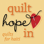 Quilt Hope In - Quilts for Haiti