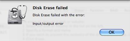 FUBAR in Disk Erase