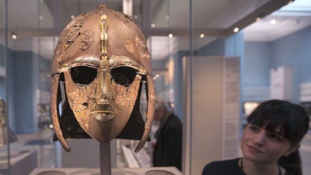 Sutton Hoo warrior's helmet