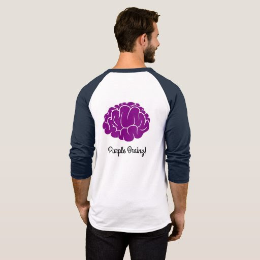 Champion T-Shirt Purple Brains