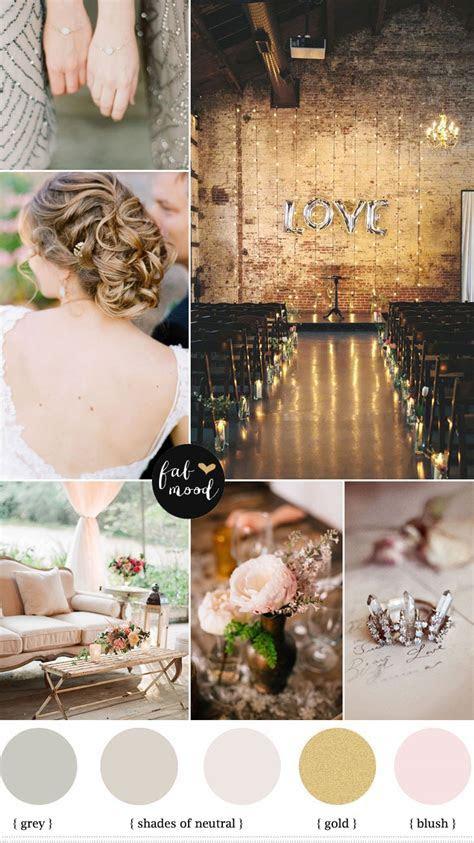 Autumn Vintage Wedding,neutral wedding color palette