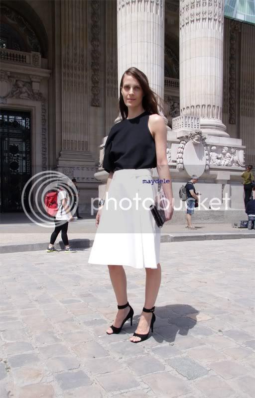 Vanessa Traina Chanel Haute Couture fall winter 2012/13