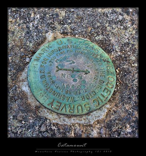 Catamount Mountain USGS Benchmark