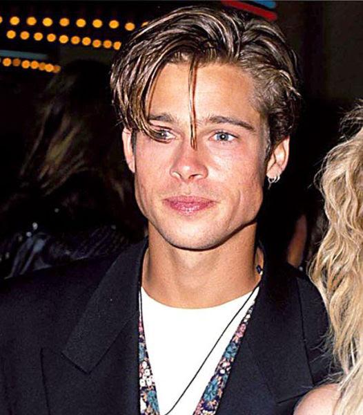 The Evolution of Brad Pitt's Hair