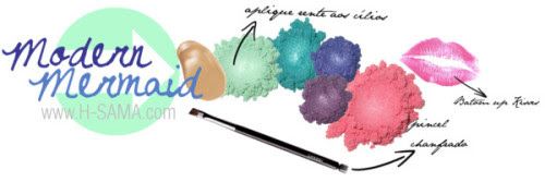Modern Mermaid Look by hsama featuring an eyeshadowHourglass Cosmetics foundation, $77 / Chanel makeup brush / Eyeshadow / Eyeshadow / Eyeshadow / Eyeshadow / Eyeshadow / Beauty product