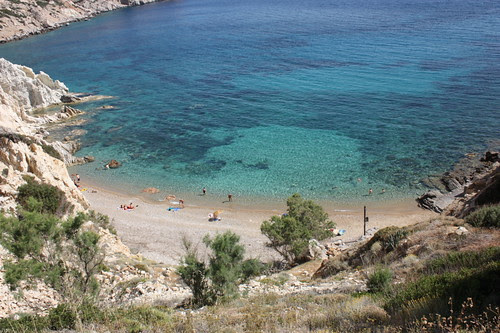 Vroulidia beach