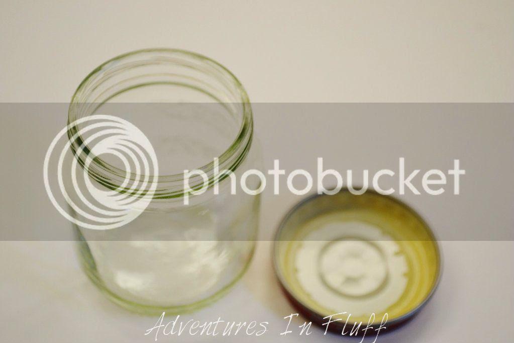 Empty Baby Food Jar Clean