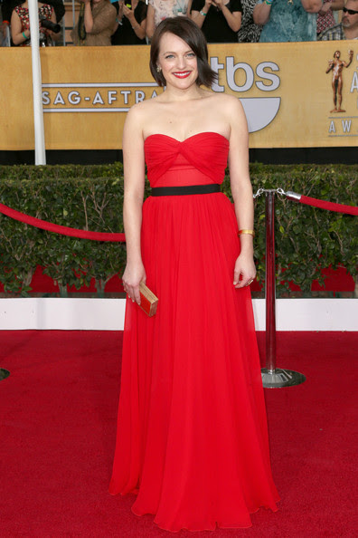 Elisabeth Moss - 20th Annual Screen Actors Guild Awards - Arrivals