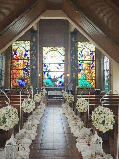 Church Flower Set up at Caleruega Church, Nasugbu Batangas