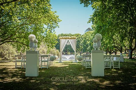 Hyde Park weddings Perth   HIre   Styling   Packages