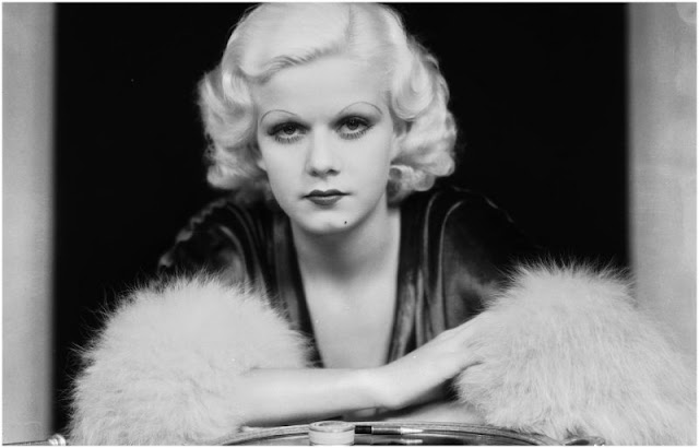 From platinum blonde to nearly bald: Jean Harlow's horrifying hair routine