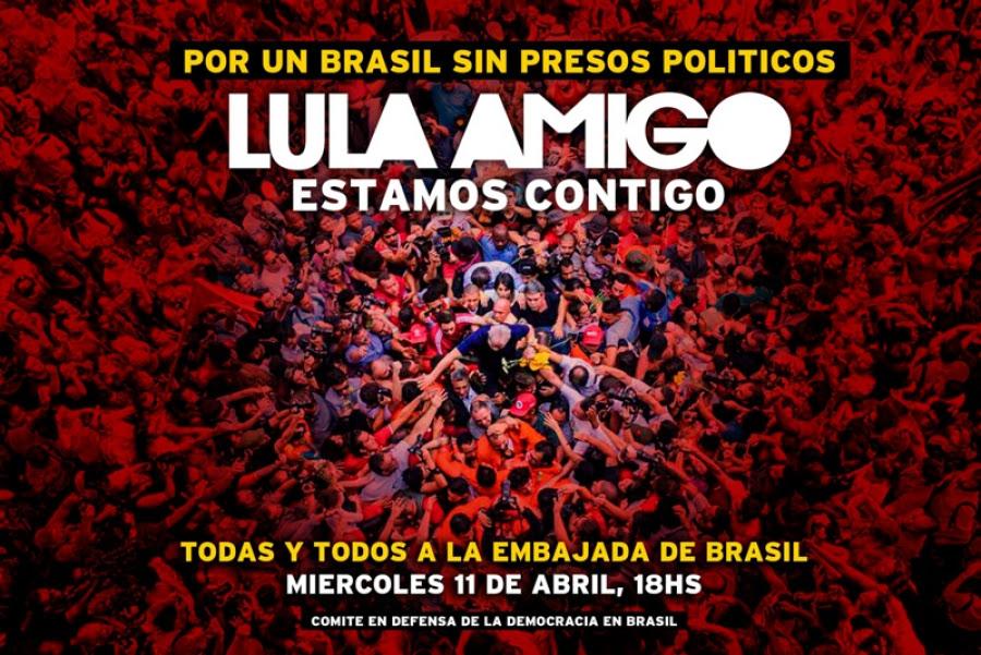 """Fernando Gambera: """"Nos va la vida en la defensa de la democracia"""""""