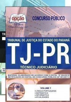 Apostila concurso TJ-PR Técnico Judiciário
