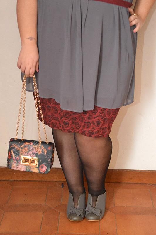 outfit grigio e borgogna8