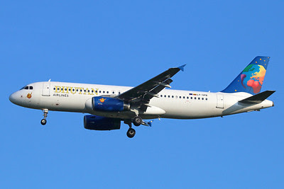 Bhutan Airlines (Small Planet Airlines) Airbus A320-232 LY-SPB (msn 2987) BKK (Michael B. Ing). Image: 921752.