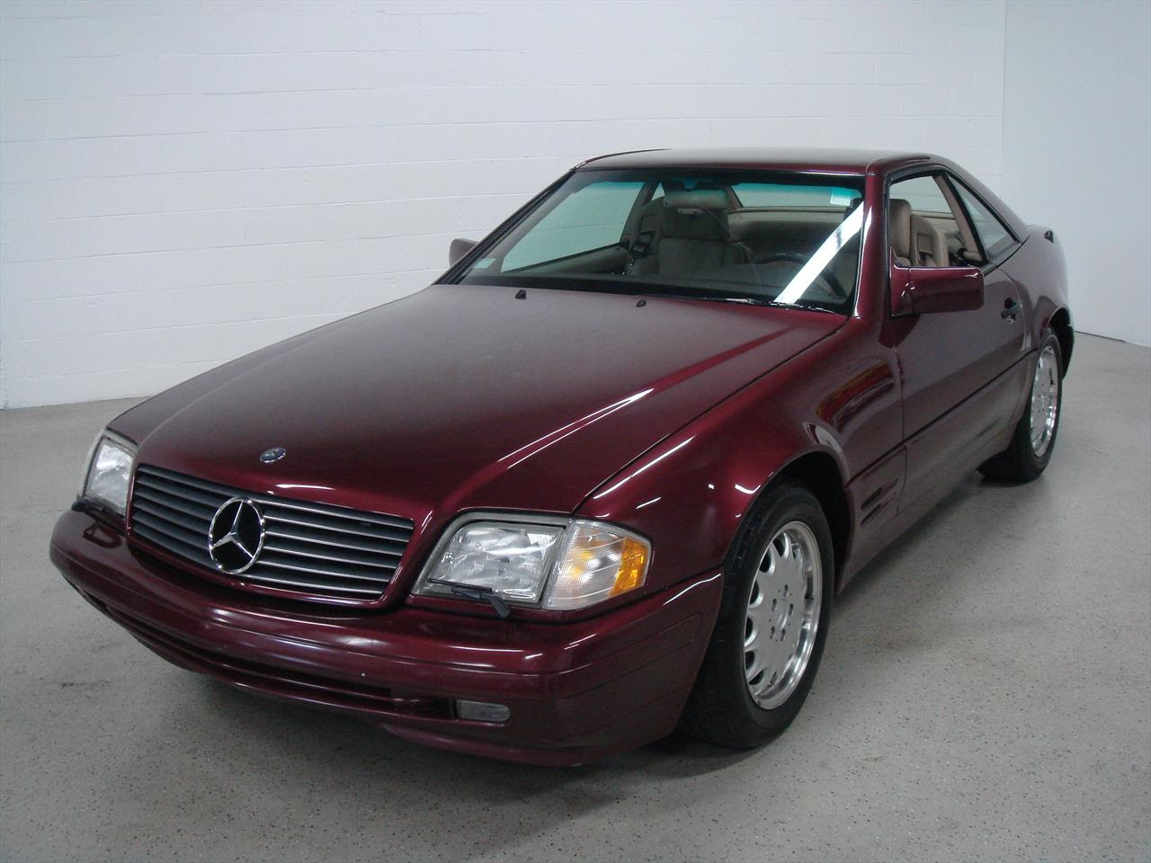 1996 Mercedes Benz SL500