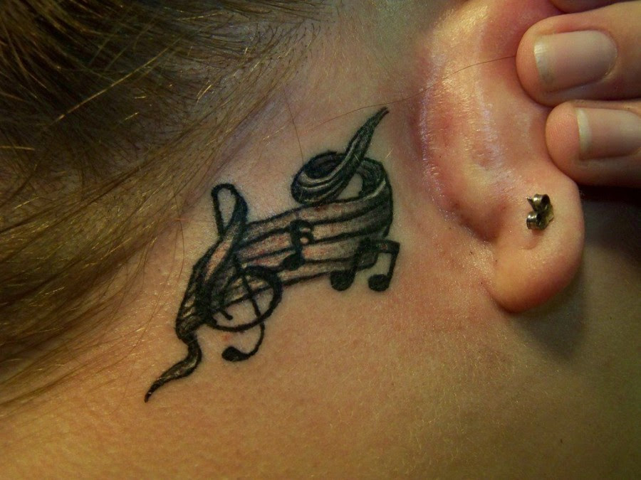 Awesome Music Note Tattoos Tattoomagz