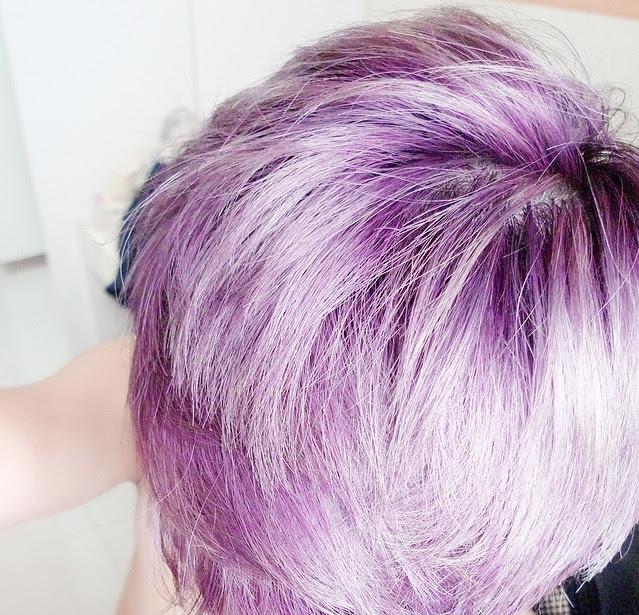 mauve purple hair colour typicalben