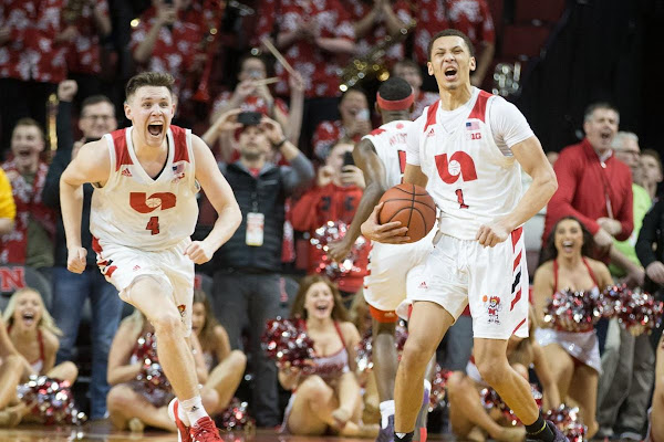 1058096642d 'That was crazy': Down four starters, Husker men turn 16-point deficit into  OT win over Iowa. Nebraska ...