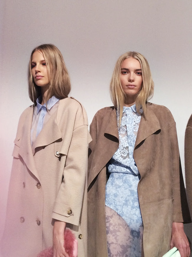 5 Backstage at the Burberry Prorsum Womenswear Spring_Summer 2014