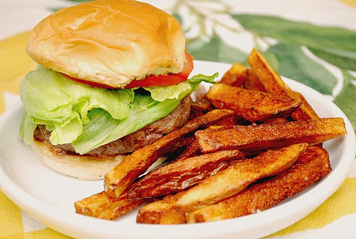 Jucy Lucy Burgers & World's Easiest French Fries