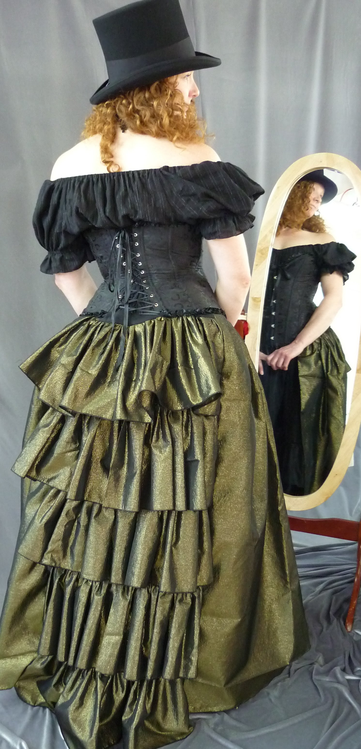 steampunk clothing  hats from cloak  dagger creations