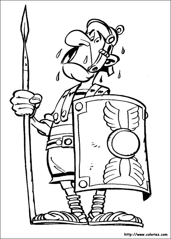 【Top 50+】 Coloriage Asterix Et Obelix