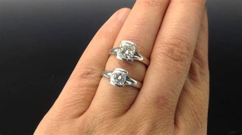 6mm Forever Brilliant vs. 7mm Forever Classic Moissanite