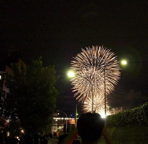 多摩川花火大会2012 by cinz