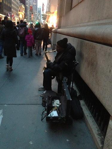Christmas eve musician