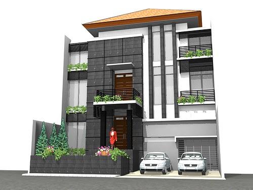 Terbaik rumah minimalis 2 lantai