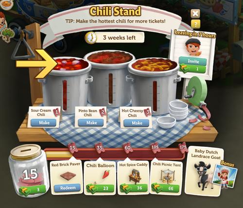 Chili Stand - FarmVille 2