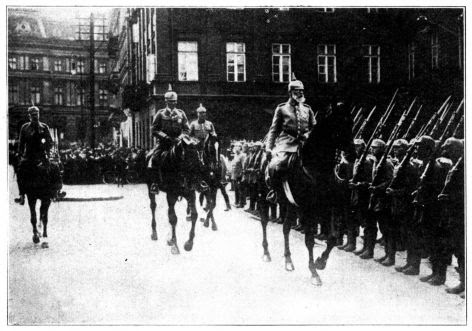 Horses and bayonets represented military strength in World War I. But what is the real source of protection?