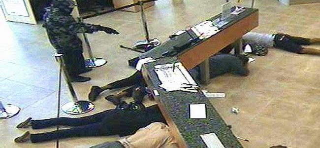 Policemen Flee, Remove Uniforms As Robbers Storm Bank In Asaba