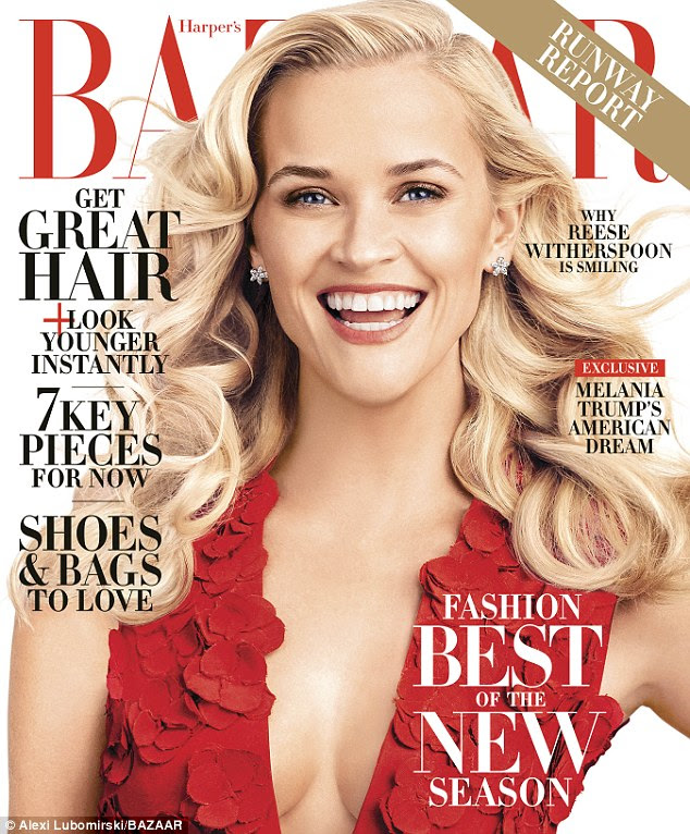 Always productive: The Harper's Bazaar cover star revealed to the magazine that she loves organizing her sock and underwear drawers in her downtime