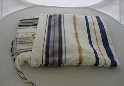 Missianic Prayer Shawl and Matching Talis Bag