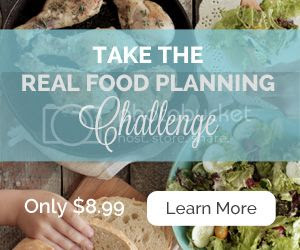 Real Food Planning Challenge E-Book