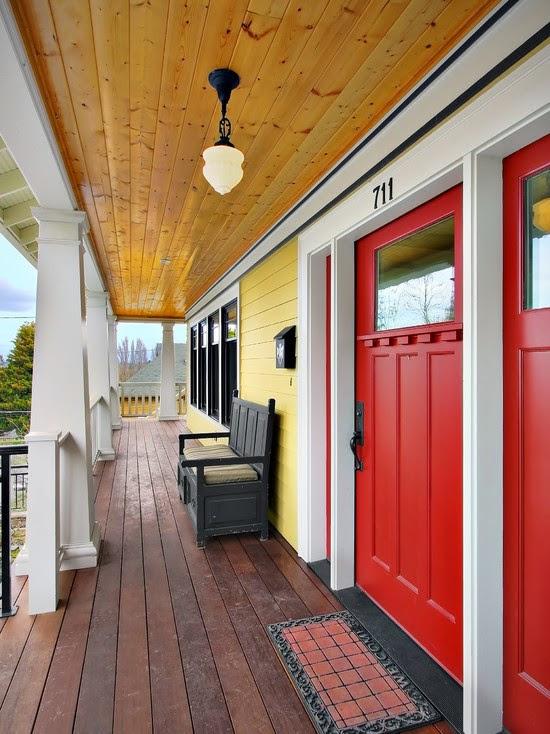 Phinney Ridge Residence Porch (Seattle)