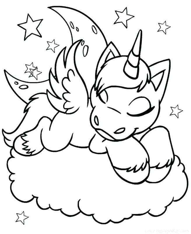 88 Big Unicorn Coloring Pages Images & Pictures In HD