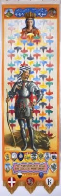 Lo scontro di civiltà con la Madonna e San Giorgio da una parte e Luciano Silighini Garagnani, tecnico, dall