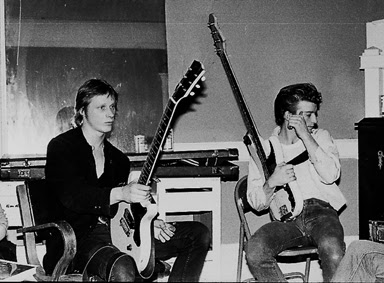 wilsey and guitar backstage
